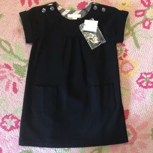 Burberry dress size 4 year New With Tags